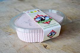 Aardbeien bavarois  (per 500 ml)